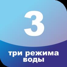 Три режима воды