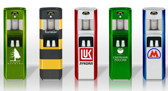 Дизайн автоматов питьевой воды